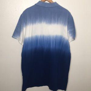Polo by Ralph Lauren Shirts - Polo By Ralph Lauren Blue Ombré Polo Tee SzXL